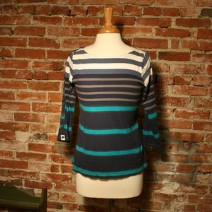 Pilcro and the Letterpress by Anthro Striped Top